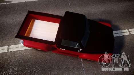 GTA V Vapid Slamvan para GTA 4 vista direita