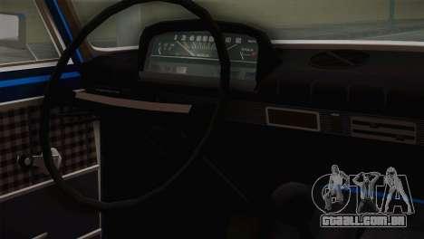 VAZ 21011 para GTA San Andreas vista direita
