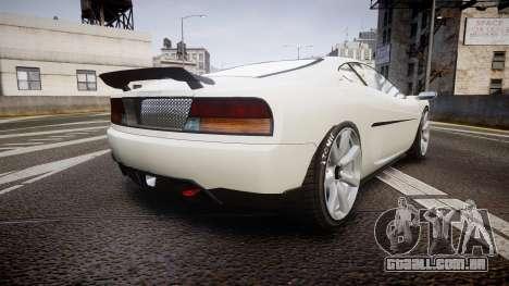 Grotti Turismo GT Carbon v2.0 para GTA 4 traseira esquerda vista