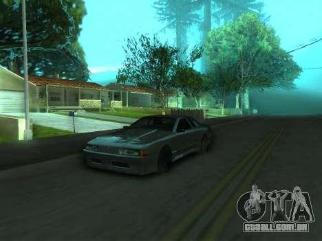 O comportamento real da máquina v3.0 para GTA San Andreas segunda tela