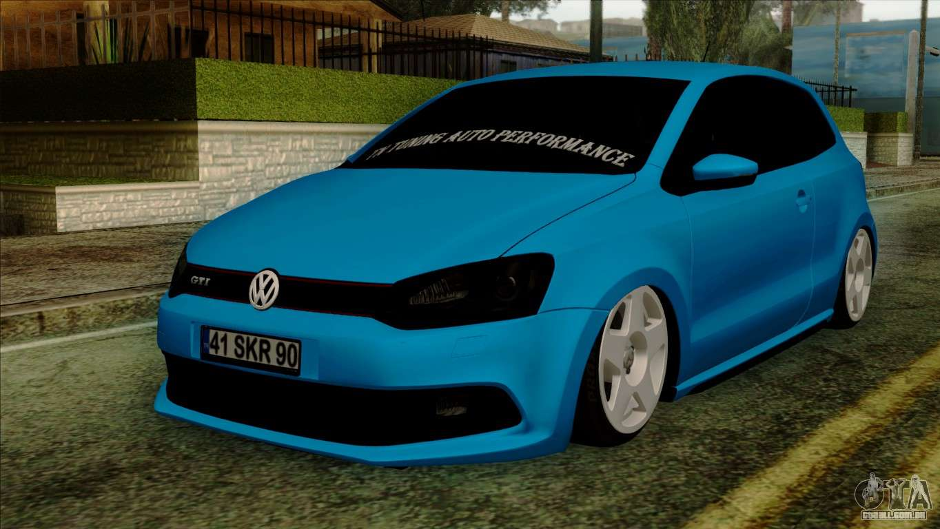 volkswagen polo gti 2014 para gta san andreas. Black Bedroom Furniture Sets. Home Design Ideas