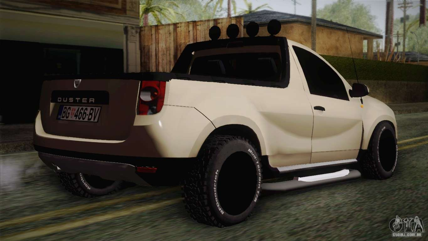 dacia duster pickup 2014 para gta san andreas. Black Bedroom Furniture Sets. Home Design Ideas