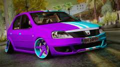 Dacia Logan Purple-Blue