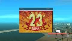 SampGUI - 23 De Fevereiro para GTA San Andreas