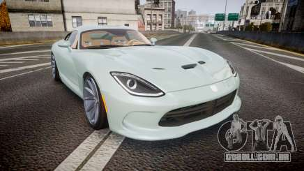 Dodge Viper SRT 2013 rims3 para GTA 4