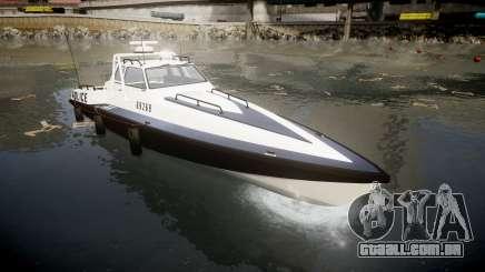 GTA V Police Predator [Fixed] para GTA 4