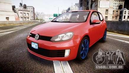 Volkswagen Golf Mk6 GTI rims3 para GTA 4