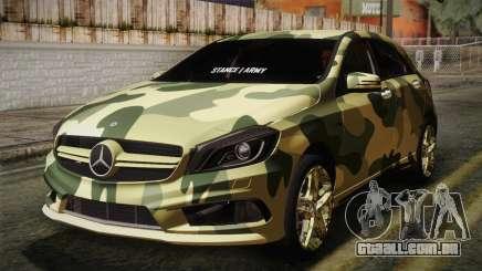 Mercedes-Benz A45 AMG Camo Edition para GTA San Andreas