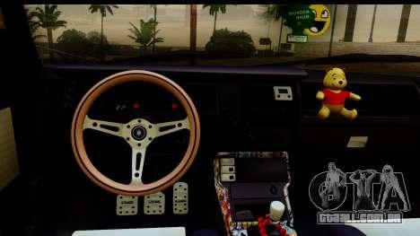Renault Broadway para GTA San Andreas traseira esquerda vista