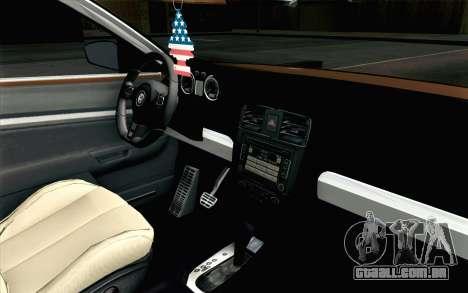 Volkswagen Jetta Air para GTA San Andreas vista direita