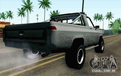 Pickup from Alan Wake para GTA San Andreas esquerda vista