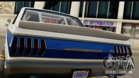 GTA 5 Vapid Blade v2 IVF para GTA San Andreas vista direita