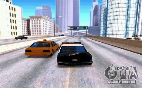 Enb Series Baixos Recursos para GTA San Andreas segunda tela
