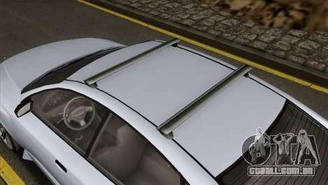 GTA 5 Obey Tailgater IVF para GTA San Andreas vista direita