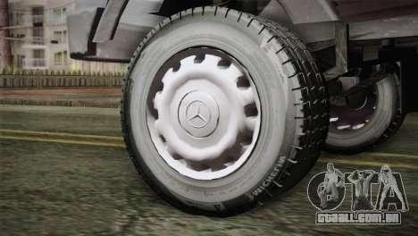 Mercedes-Benz Khavar para GTA San Andreas traseira esquerda vista