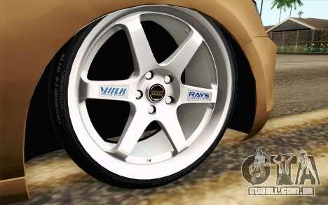 Volkswagen Jetta Air para GTA San Andreas traseira esquerda vista
