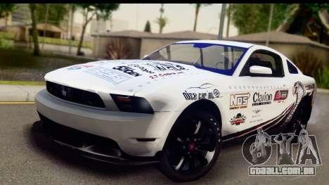 Ford Mustang 2010 Cobra Jet para GTA San Andreas