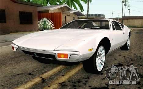 De Tomaso Pantera 1971 para GTA San Andreas
