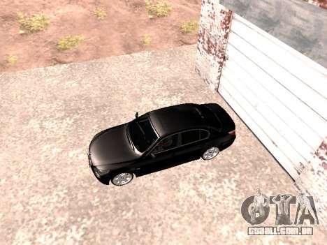 BMW 525i (e60) para GTA San Andreas traseira esquerda vista