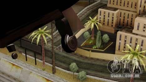 Hydra Eagle para GTA San Andreas vista traseira