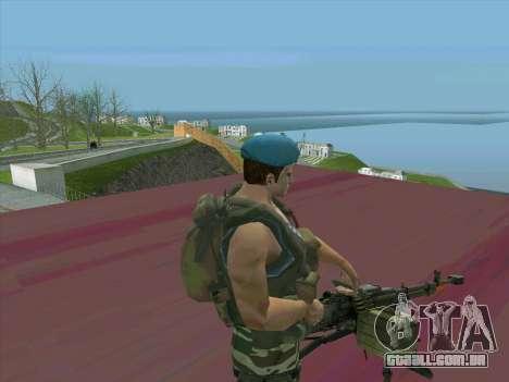 Tanque do Cabo para GTA San Andreas terceira tela