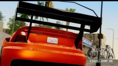 GTA 5 Benefactor Feltzer para GTA San Andreas vista direita