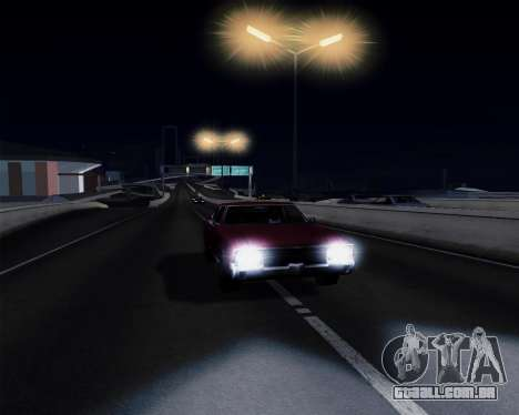 Medium ENBseries v1.0 para GTA San Andreas quinto tela
