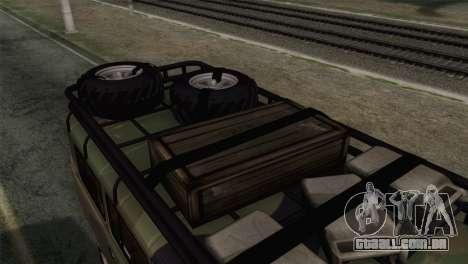 UAZ 2206 Pão para GTA San Andreas vista traseira