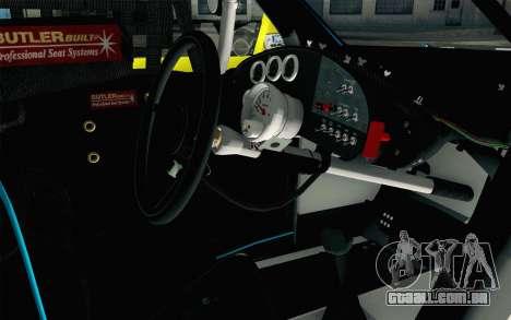 NASCAR Ford Fusion 2012 Short Track para GTA San Andreas vista direita