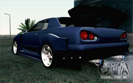 Elegy GP Sports G-SONIC EVO Kit para GTA San Andreas esquerda vista