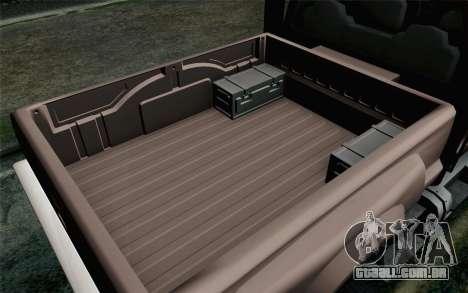 Vapid Guardian GTA 5 para GTA San Andreas vista direita