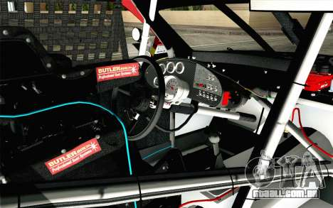 NASCAR Toyota Camry 2012 Short Track para GTA San Andreas vista direita