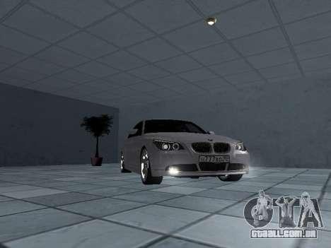 BMW 525i (e60) para GTA San Andreas vista traseira