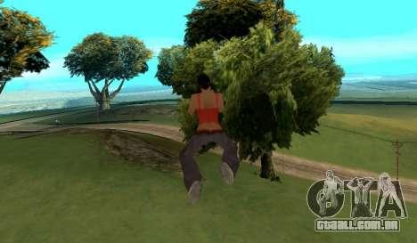 Cleo Fly para GTA San Andreas terceira tela
