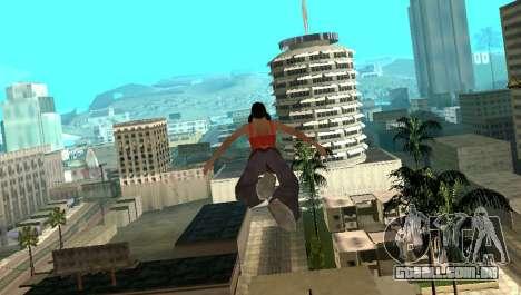 Cleo Fly para GTA San Andreas