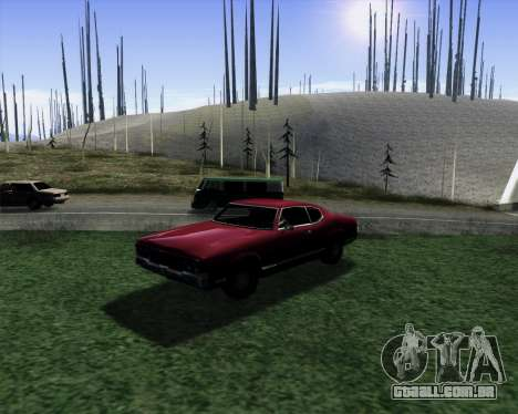 Medium ENBseries v1.0 para GTA San Andreas por diante tela