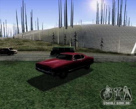 Medium ENBseries v1.0 para GTA San Andreas por diante tela