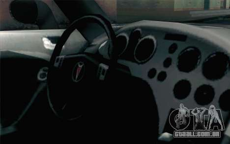 Pontiac Solstice para GTA San Andreas vista direita