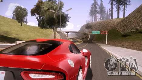 ENB Sunreal para GTA San Andreas quinto tela