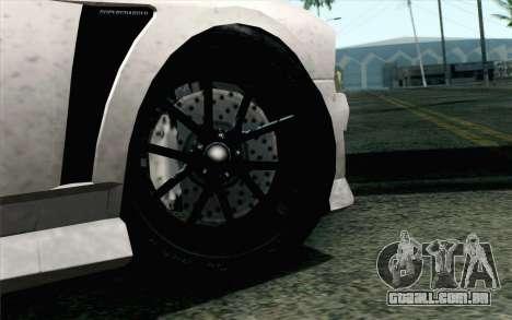 GTA 5 Bravado Buffalo S v2 IVF para GTA San Andreas traseira esquerda vista