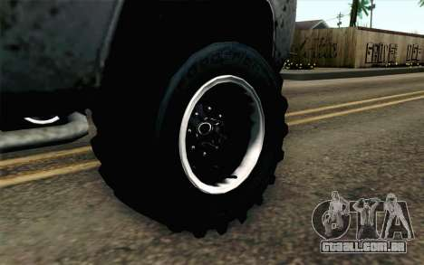 Pickup from Alan Wake para GTA San Andreas traseira esquerda vista
