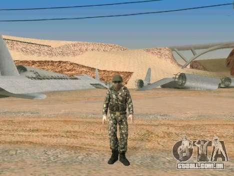 Cine forças especiais da URSS para GTA San Andreas sexta tela