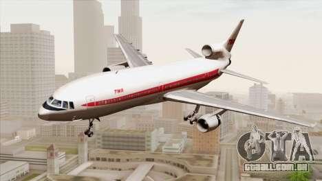 Lookheed L-1011 TWA para GTA San Andreas