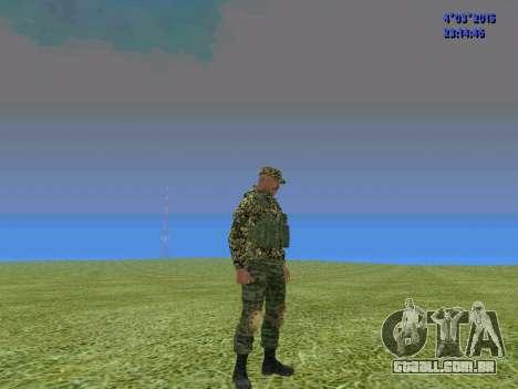 Soldado do batalhão para a Somália para GTA San Andreas terceira tela