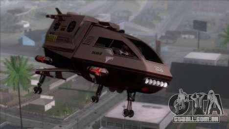 Shuttle v1 (wheels) para GTA San Andreas