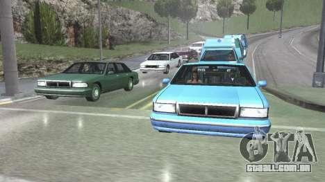 Estrada Reflexões Fix 1.0 для GTA San Andreas para GTA San Andreas