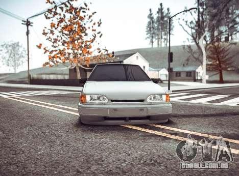 ENB por meio do PC para GTA San Andreas terceira tela