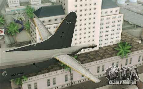 Lockheed P-3 Orion German Navy para GTA San Andreas traseira esquerda vista