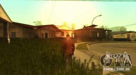 SkyGFX v1.3 para GTA San Andreas segunda tela
