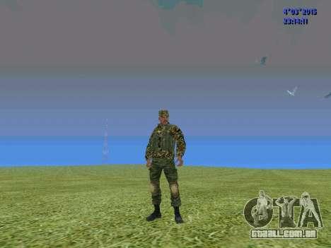 Soldado do batalhão para a Somália para GTA San Andreas segunda tela